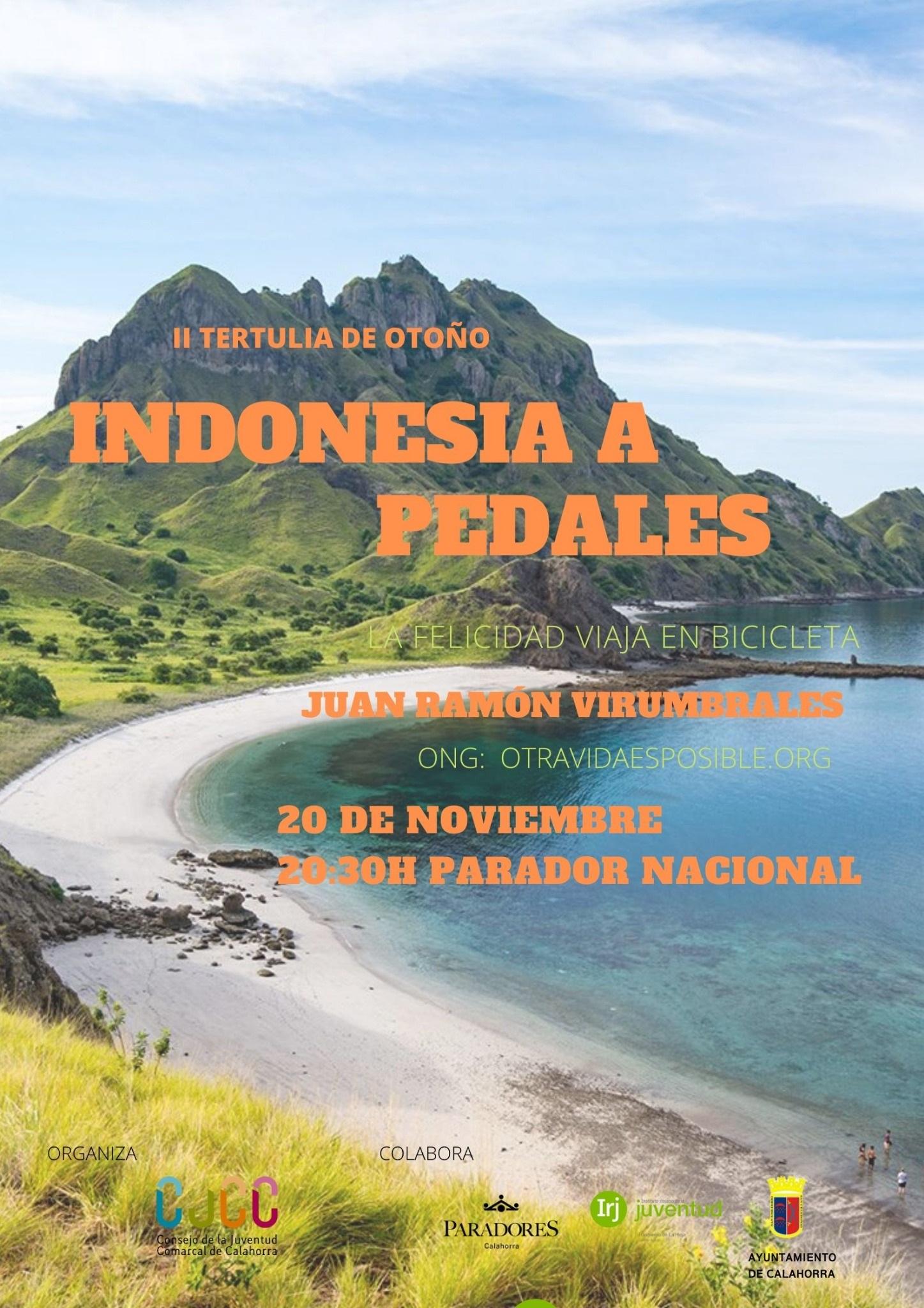 II Tertulia de Otoño «Indonesia a Pedales»