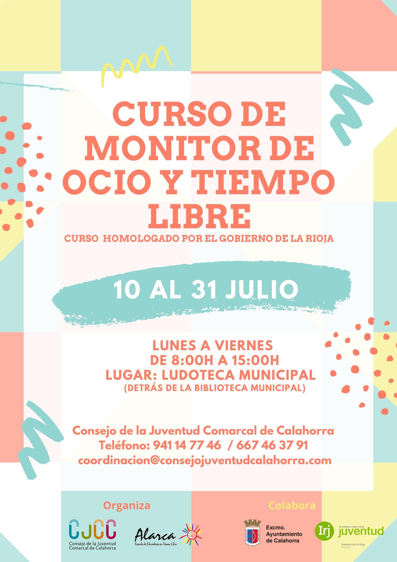 Curso de Monitor de Ocio y Tiempo Libre 2020