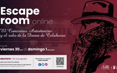 Escape Room Online: El Comisario Antoñanzas y el robo de la Dama de Calahorra
