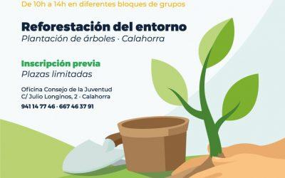 Reto Verde 2020: Reforestación del entorno el sábado 28 de noviembre
