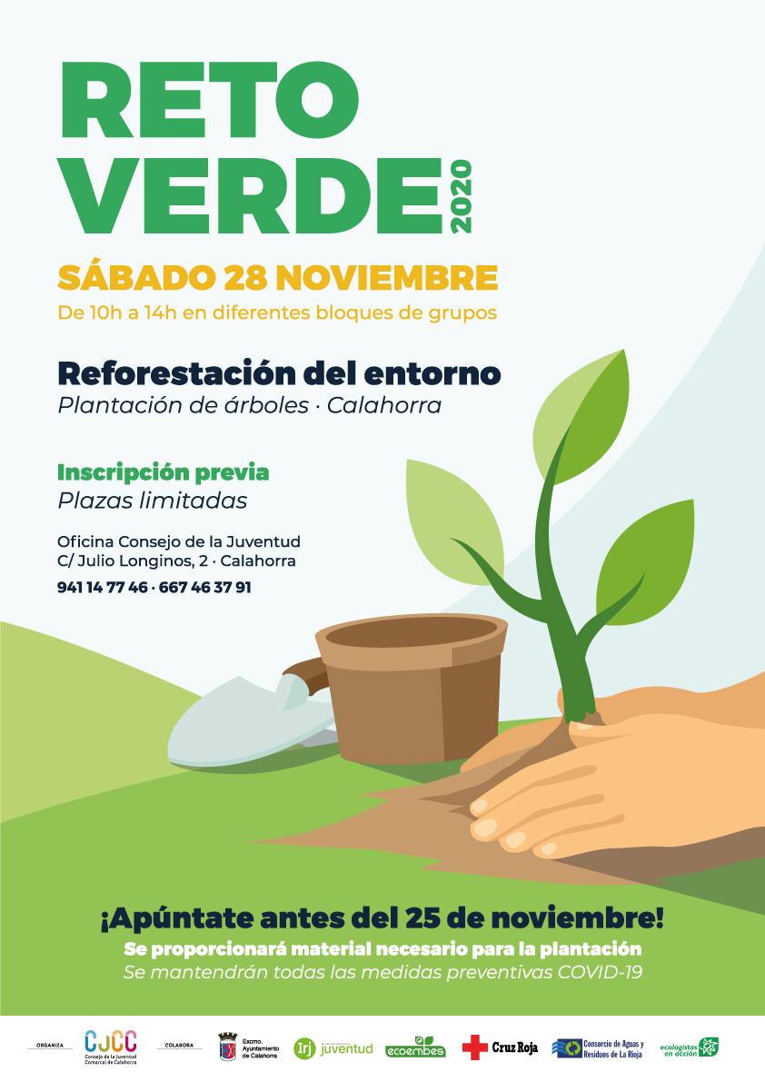 Reto Verde Reforestación del entorno Cartel 2020: