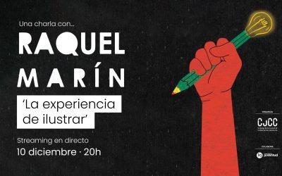 'La experiencia de ilustrar' con Raquel Marín, nueva Tertulia online